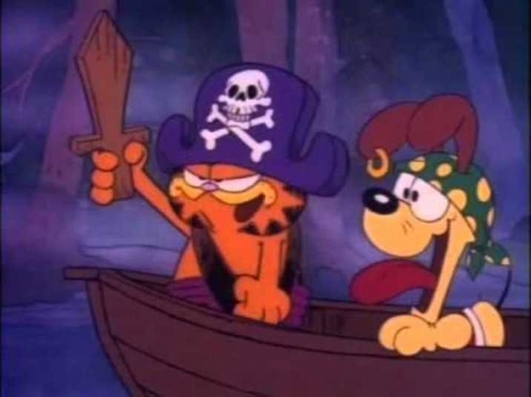 garfields halloween adventure is yet another one of those eighties halloween specials that i simply cannot live without there is just something about that